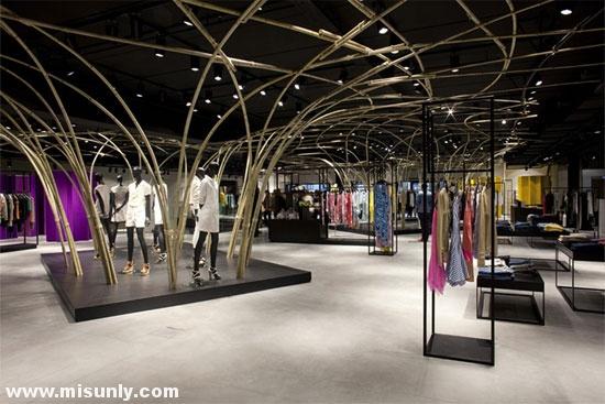 百货商场楼层布局和动线设计