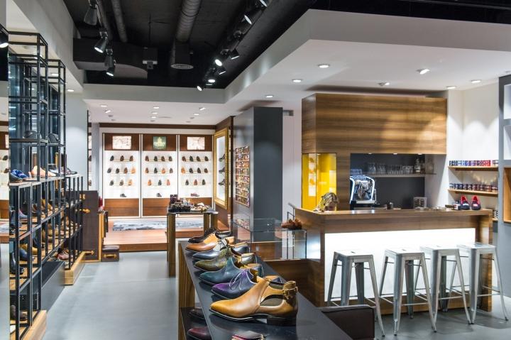 loft风格得鞋店装修设计