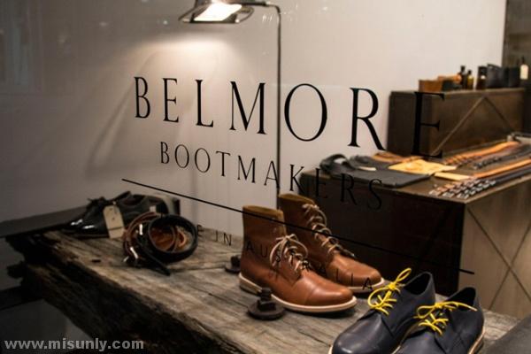 贝尔摩Bootmakers鞋店装修设计