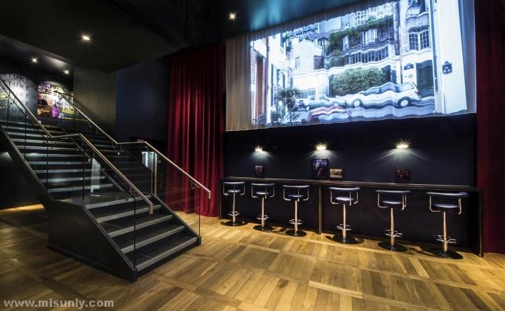 英国伦敦多利亚旗舰影院设计