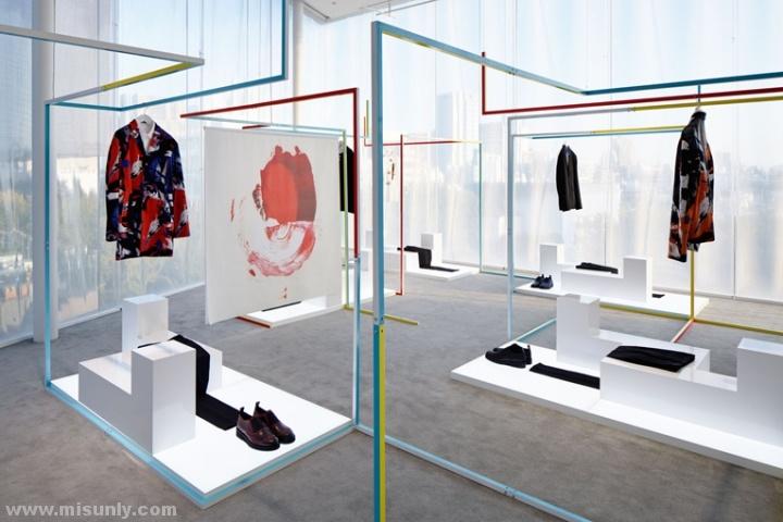 日本东京迪奥男装店设计