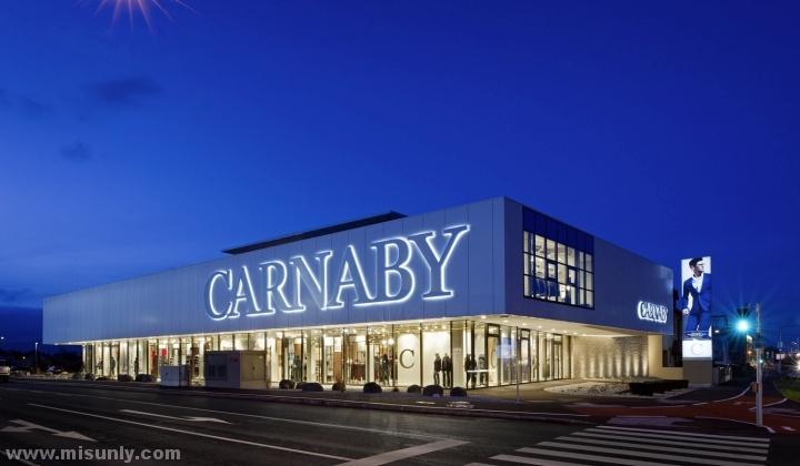 奥地利维也纳新城Carnaby 展厅设计