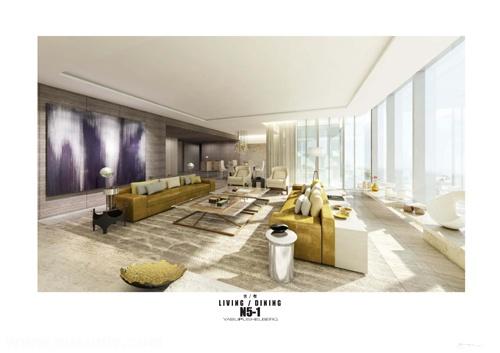 YABU–N5-1住宅项目室内方案设计