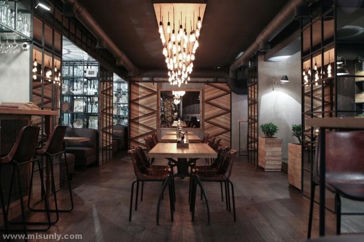 日本风格酒吧装修图片