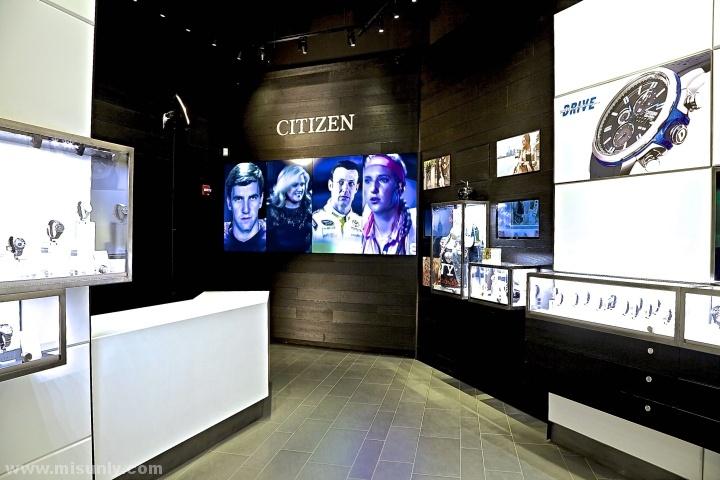 纽约市Citizen手表旗舰店设计