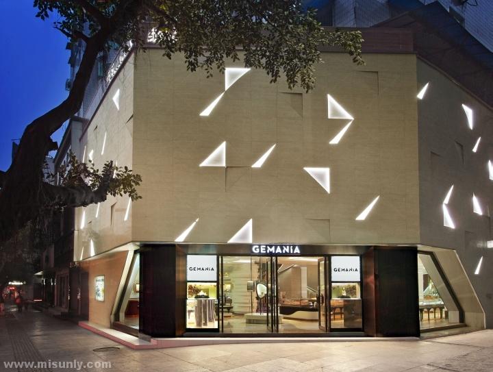 中国宜宾-Gemania珠宝店设计