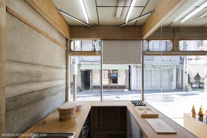 日本东京okomeya米店设计
