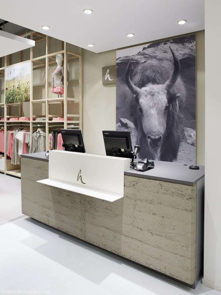 德国法兰克福hessnatur女装店铺设计