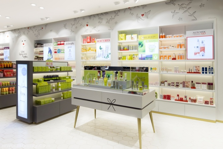 Beauty Bar化妆品店设计