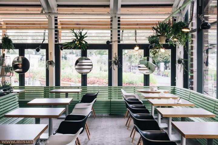 俄罗斯莫斯科bulka咖啡饼店设计