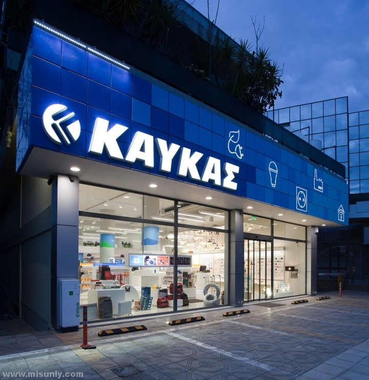 卡夫卡照明零售概念店设计