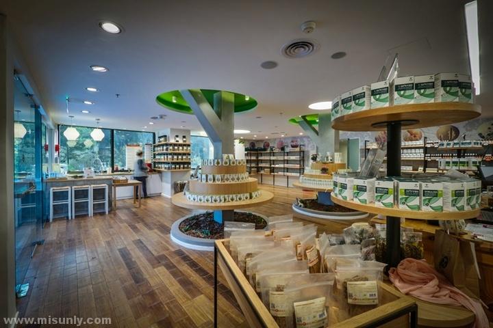 绿色创意食品超市设计
