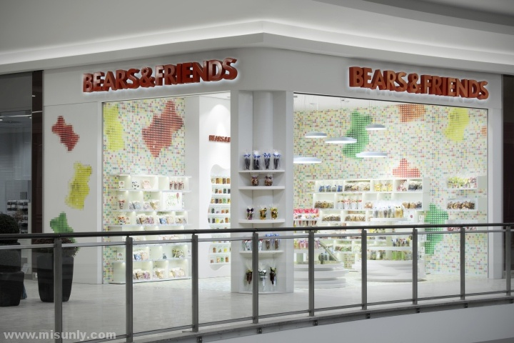 国外简约零食店设计