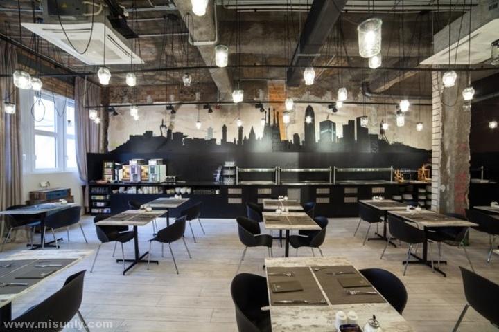 工业风餐厅设计