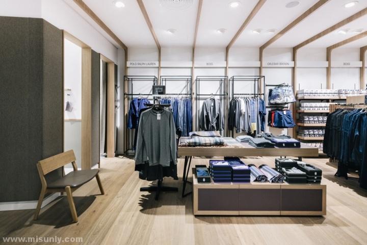 男装专卖店设计