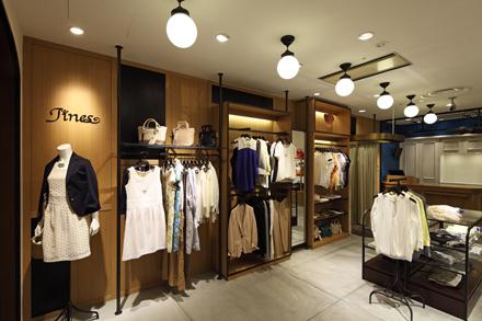 复古风格女装服装店设计