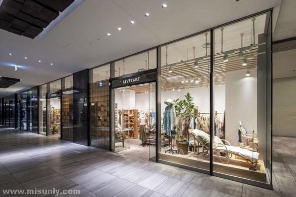 日本极简服装店设计