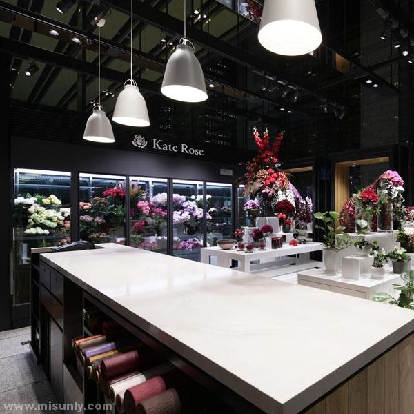 高端鲜花店设计