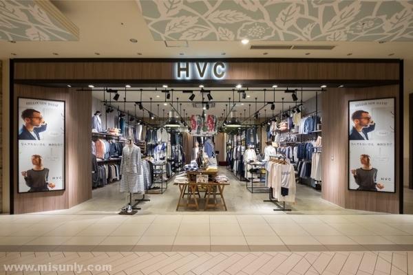 HVC男装品牌连锁店设计