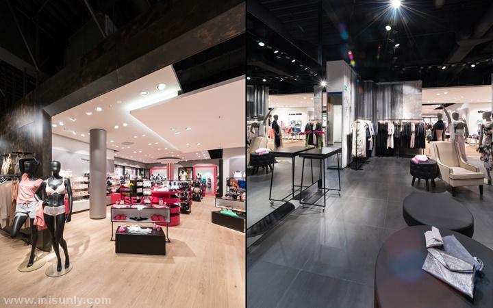 国外高端品牌女装店设计