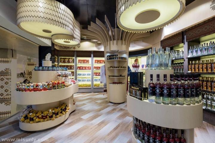 国外精品超市设计