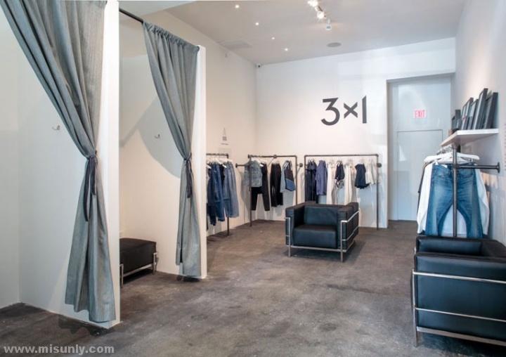 3×1品牌女装专卖店设计