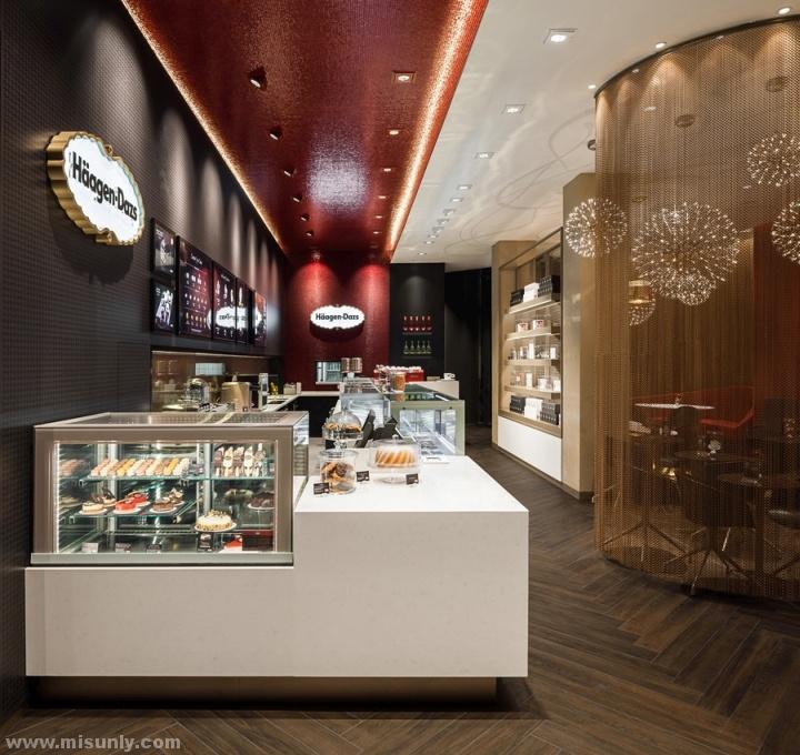 Häagen-Dazs 甜品店设计