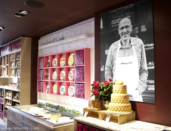 Konditor & Cook甜品店设计