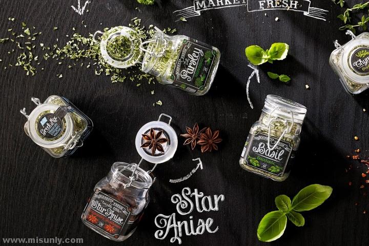 Market Fresh香料罐包装设计