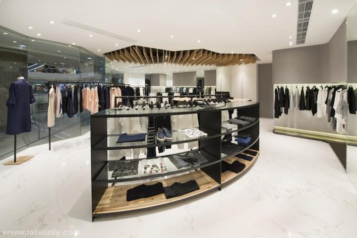 橱窗设计 意大利米兰bottega veneta品牌男装店设计 泰国曼谷伊莎贝尔