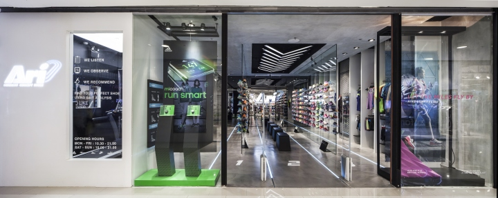 Ari Running运动鞋店设计