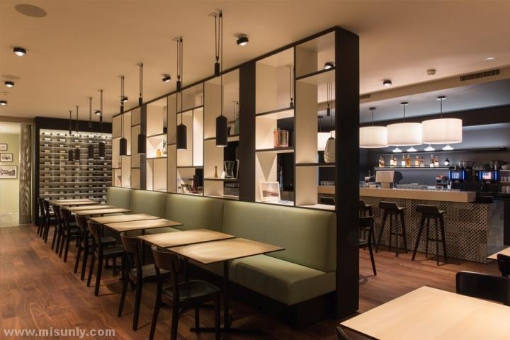 Brasserie Löwen时尚餐厅设计