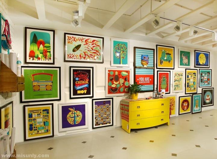 chumbak家具饰品专卖店设计 米尚丽店装网 零售设计网 专注于零售空间设计案例分享