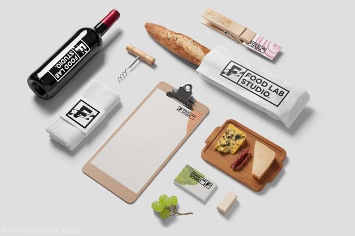 Food Lab餐厅品牌VI设计