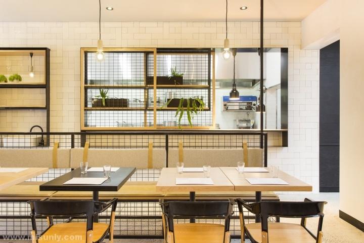 Hutch & Co时尚餐厅设计