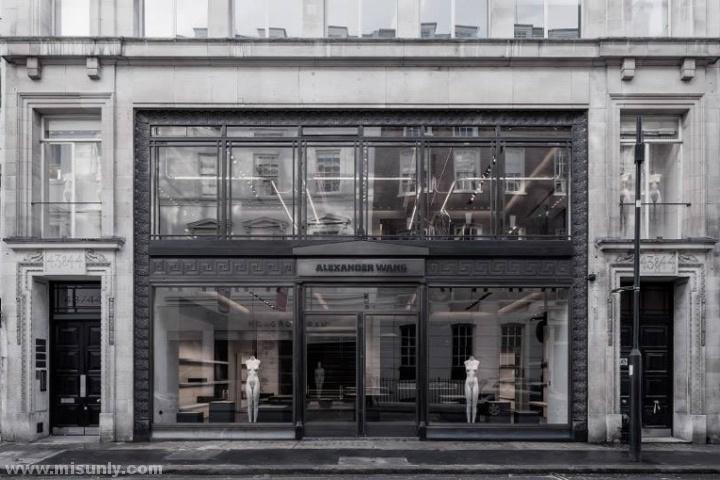 alexander高级灰风格店面设计