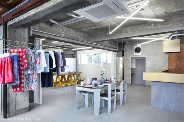 our工业风服装店设计