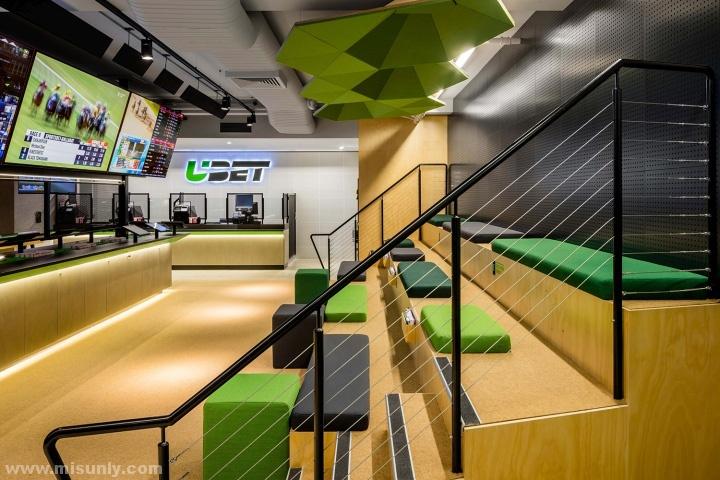 UBET 跑马赛体验中心设计