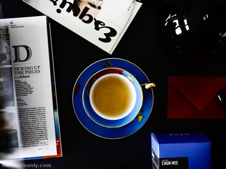 YUZU Tea茶包装设计