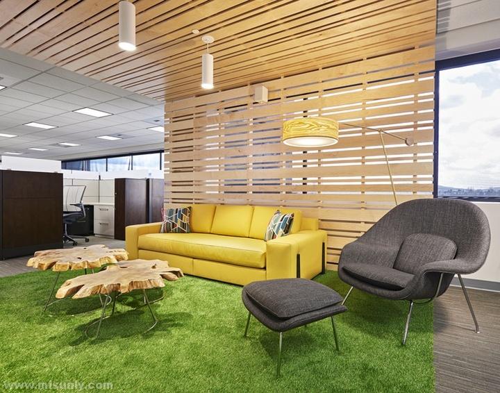 PEMCO保险公司办公室设计