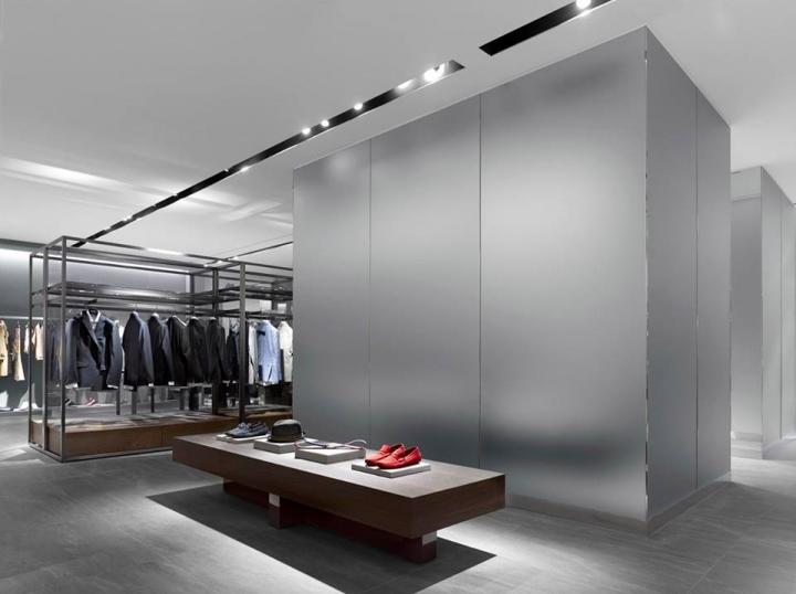 韩国luxury品牌服装店设计