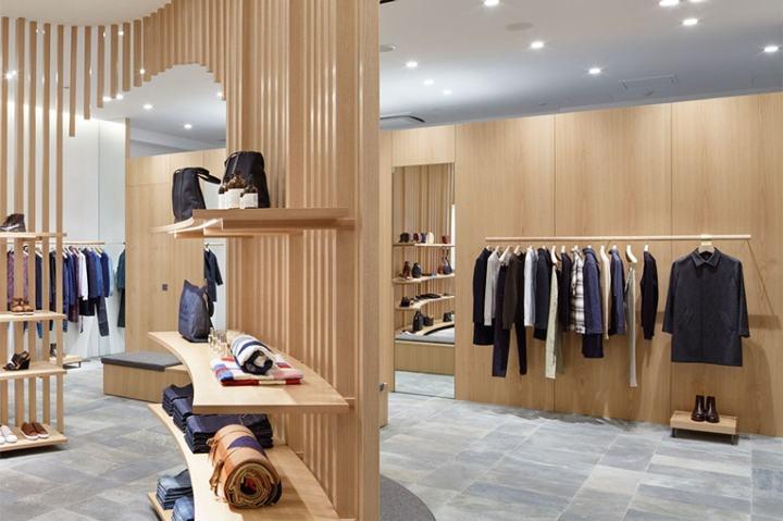 日式风格服装店设计
